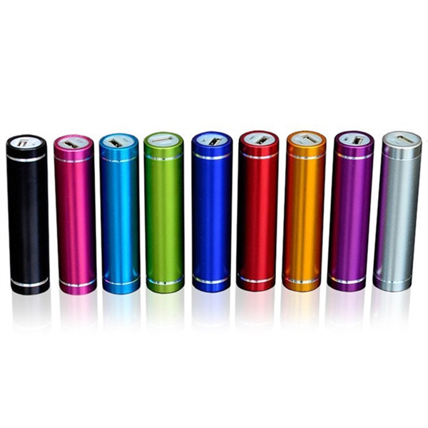 2600mAh Anodized Aluminum Power Bank