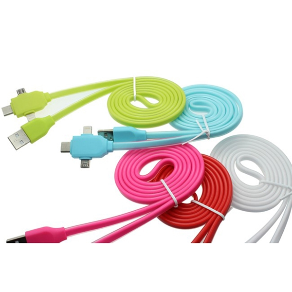 iPhone 4, 5, 6, 6S, Android and Type-C 4 in one cable