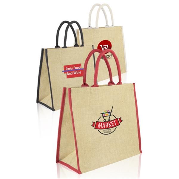 Fresno Eco Friendly Jute Tote Bags