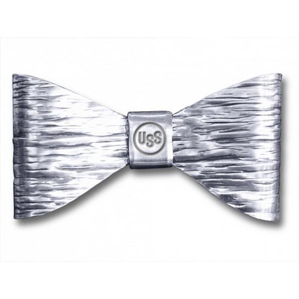 Monet Bow Tie - Metallic bow tie with custom hand stamp or monogram