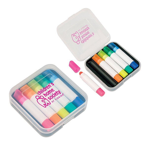 5 Piece Wax Highlighter Set