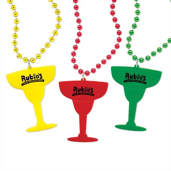 Margarita Glass Medallion Beads
