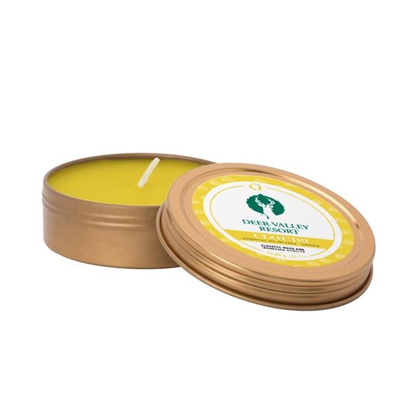 2 oz. Screw-Top Essential Oil Infused Candle
