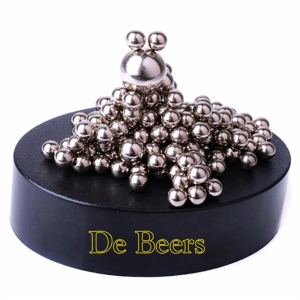 Magnetic Sculpture Desk Toys - 160 Stainless Steel Balls