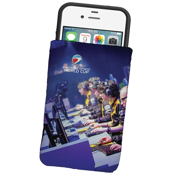 Dye Sublimated Microfiber Phone Wallet Pouch or Sleeve