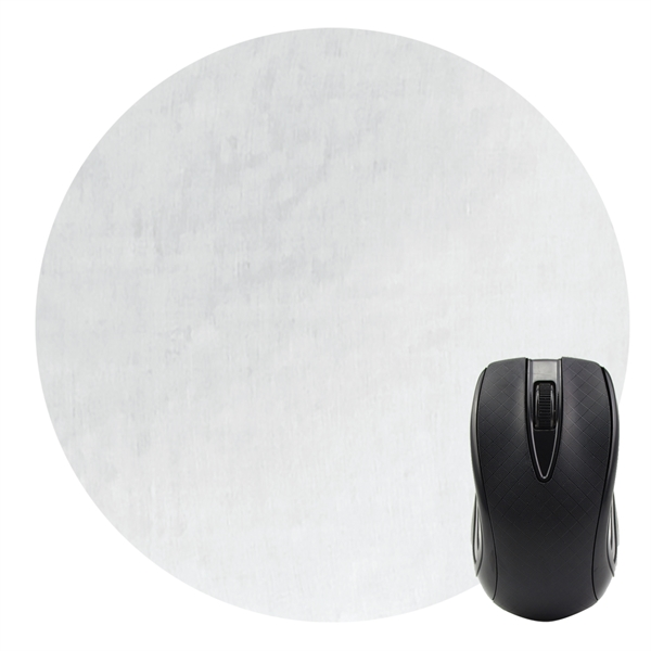 "Dye Sublimated Computer Mouse Pad - 5"" Dia."