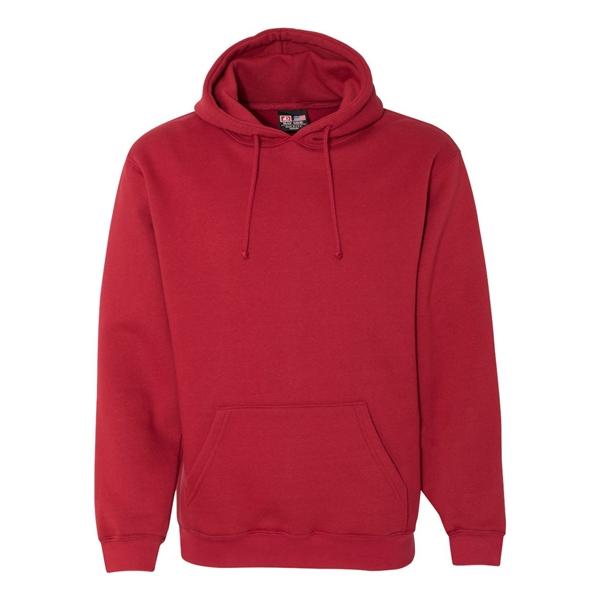 USA-Made Unisex Custom Printed Hooded Sweatshirt
