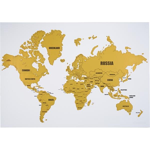 Wanderlust World Scratch Map