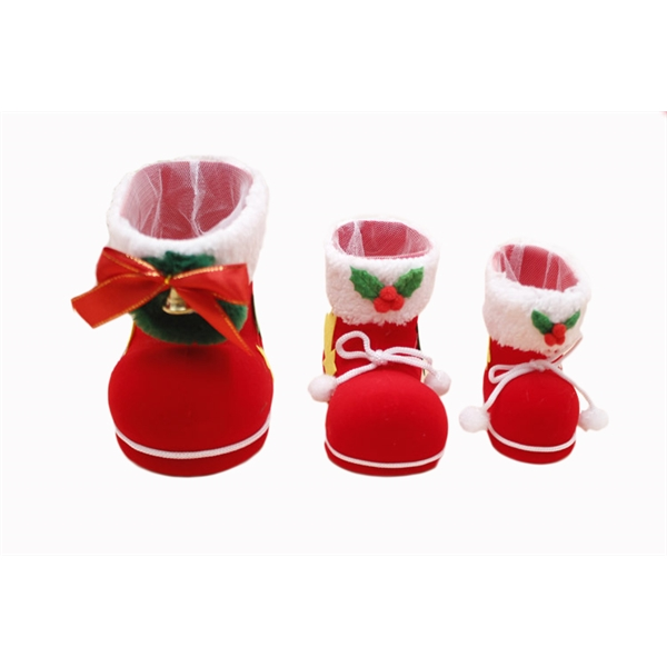 Christmas Flocking Candy Boots