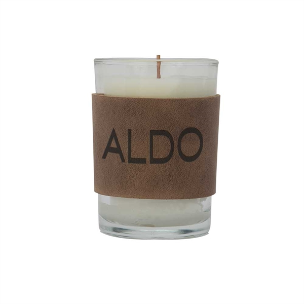 HARPER 8oz. Candle with Leather Sleeve