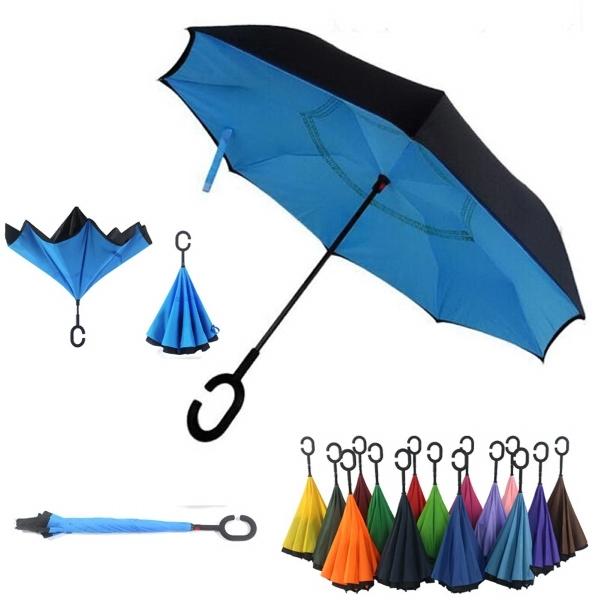 C-Holder Double layer Reverse Umbrella