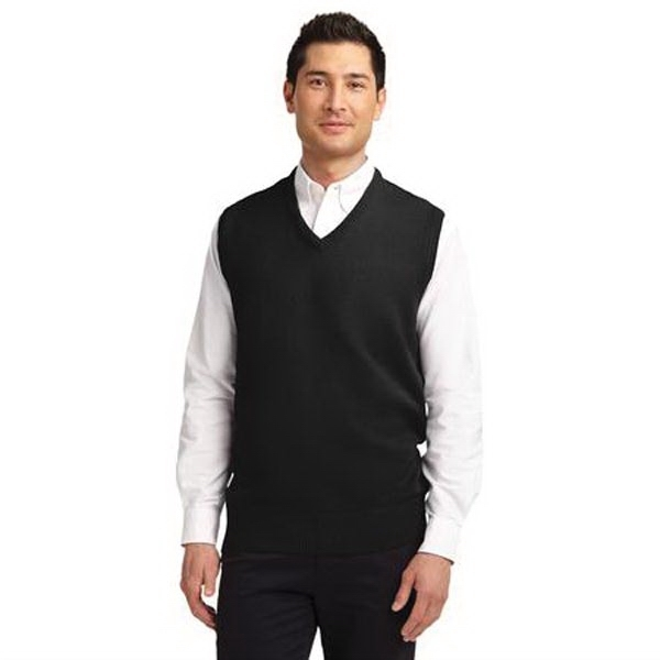 Port Authority Value V-Neck Sweater Vest.