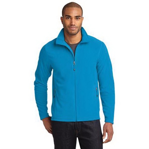 Eddie Bauer Full-Zip Microfleece Jacket.