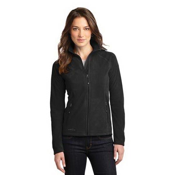 Eddie Bauer Ladies Full-Zip Microfleece Jacket.