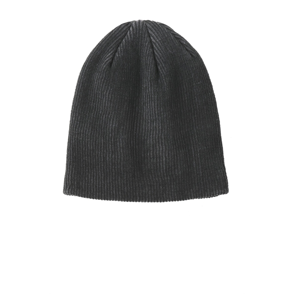Port Authority Rib Knit Slouch Beanie.