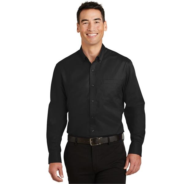 Port Authority Tall SuperPro Twill Shirt.