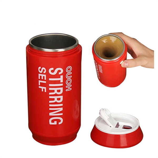 Automatic Mixing Coffee Cup