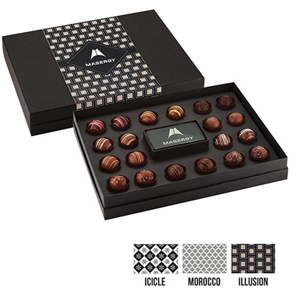 20 Piece Belgian Chocolate Truffle Box