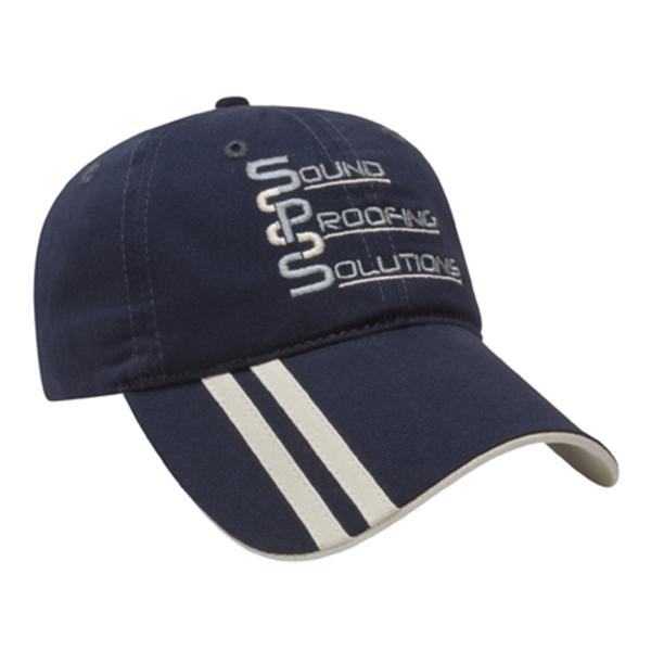 Double Stripe Cap
