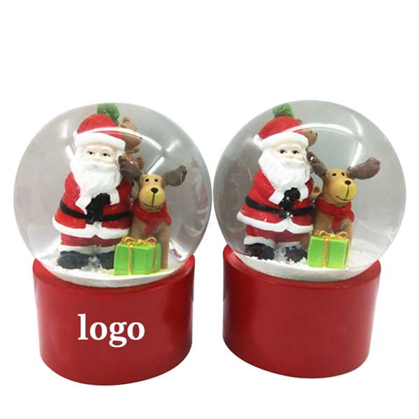 Christmas Santa Claus Snow Globes