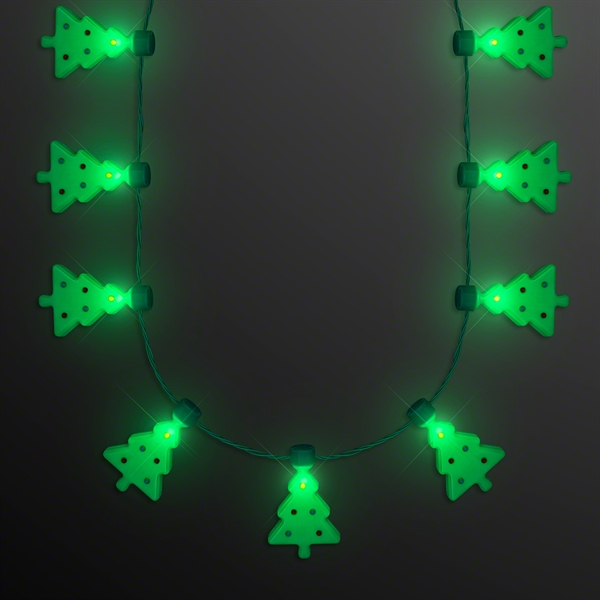 Christmas Tree LED String Lights Necklace