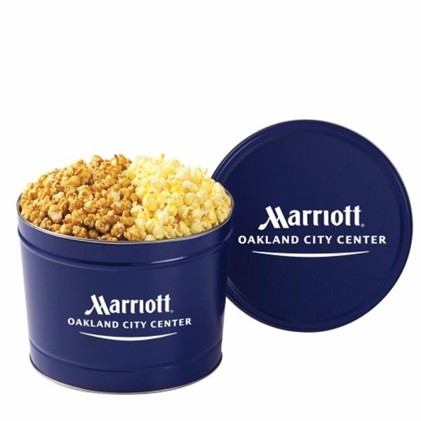 2 Way Popcorn Tin / 2 Gallon