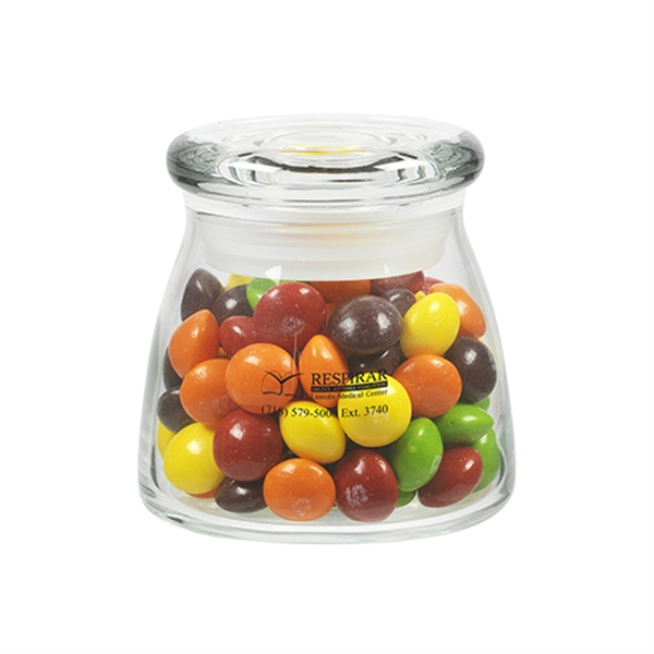 Glass Vibe Jar with Skittles®