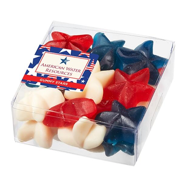 Symbolic Snack Boxes - Patriotic Gummy Stars 5.5 oz