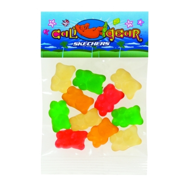 1 oz Gummy Bears / Header Bag