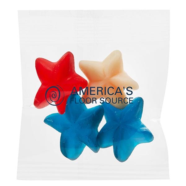 Tribute Treat Bags - Patriotic Gummy Stars