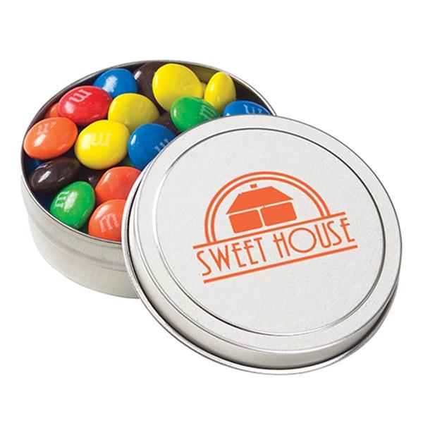 Small Round Tin / M&Ms®