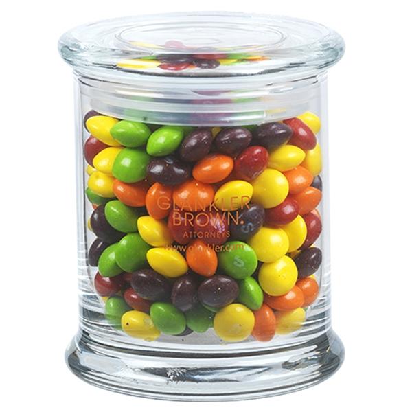 10.3 oz. Skittles® in Glass Status Jar
