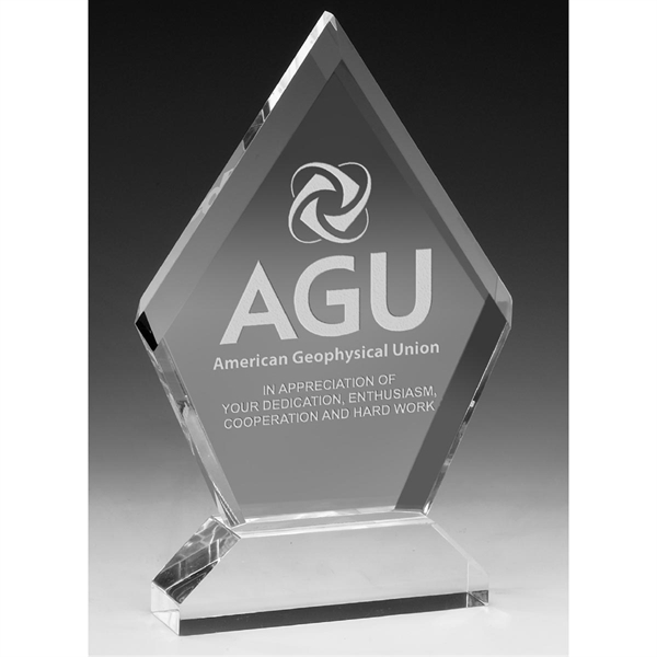 Multi-Faceted Acrylic Award