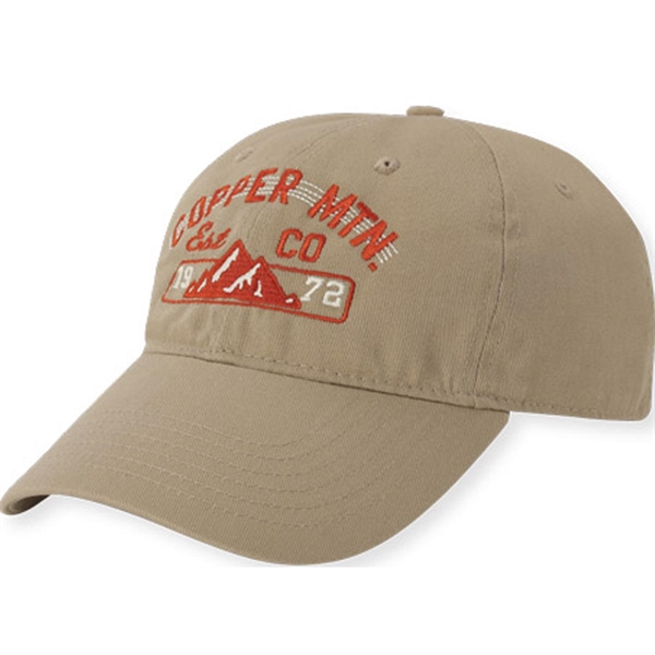 Benchmark Washed Twill Cap