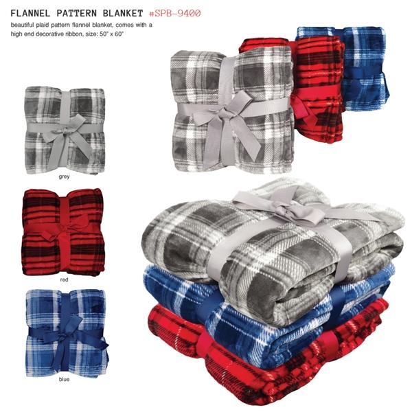 FLANNEL PATTERN BLANKET