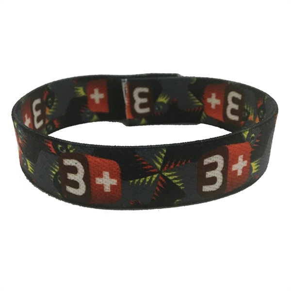 Dye-Sublimated Wristband