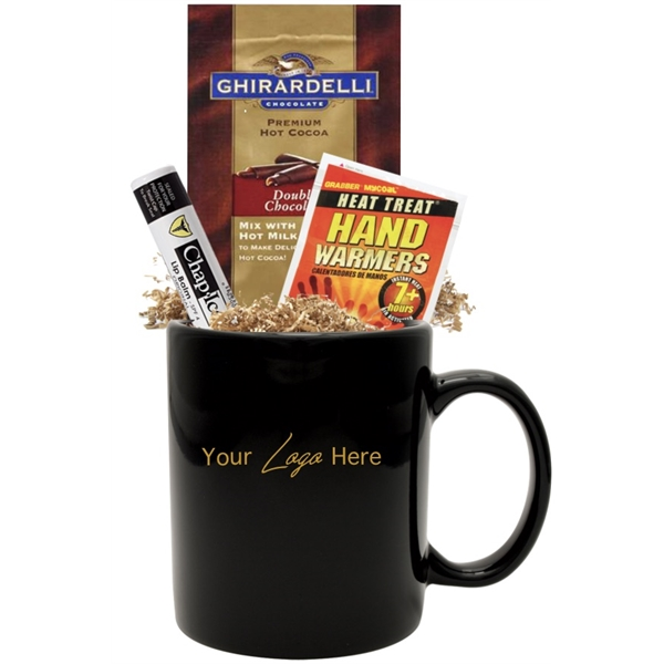 Winter Warm-up Gift Mug Kit (Black)