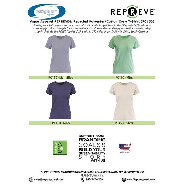 Ladies 50/50 Repreve T Shirt