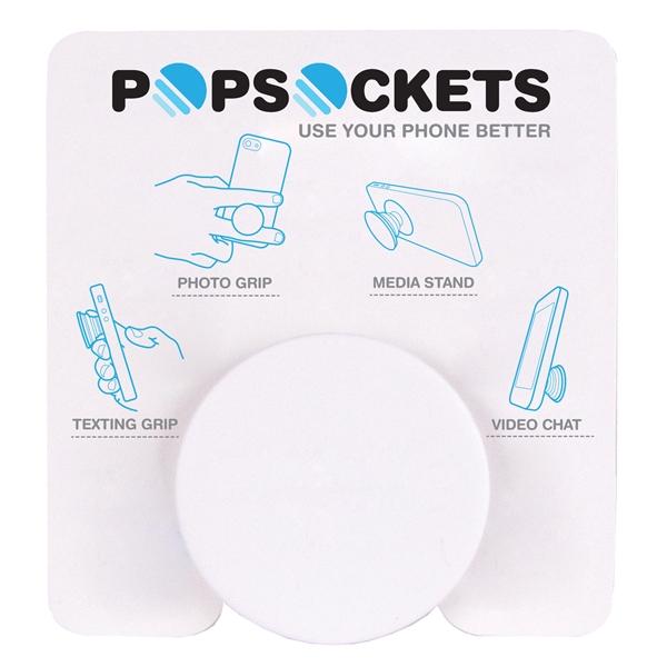 PopSockets Grip - White/Black