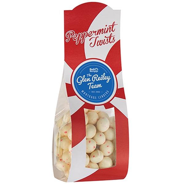 Large Candy Desk Drop w/ Peppermint Twists (6 oz.)