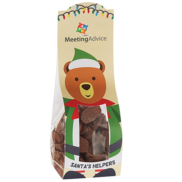 Large Candy Desk Drop w/ Milk Chocolate Gummy Bears