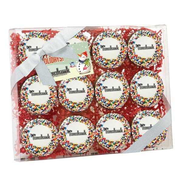 Elegant Chocolate Covered Oreo® Gift Box / 12 Pack