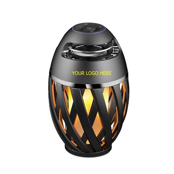 Campfire Lantern Bluetooth Speaker with LED Lights