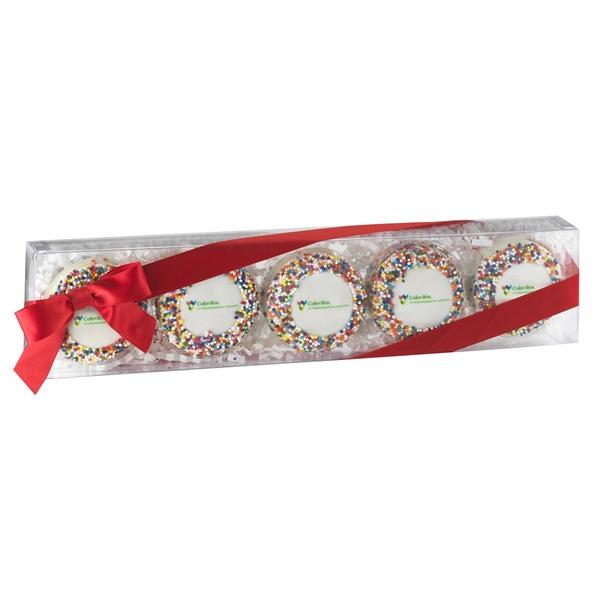 Elegant Chocolate Covered Oreo® Gift Box / 5 Pack