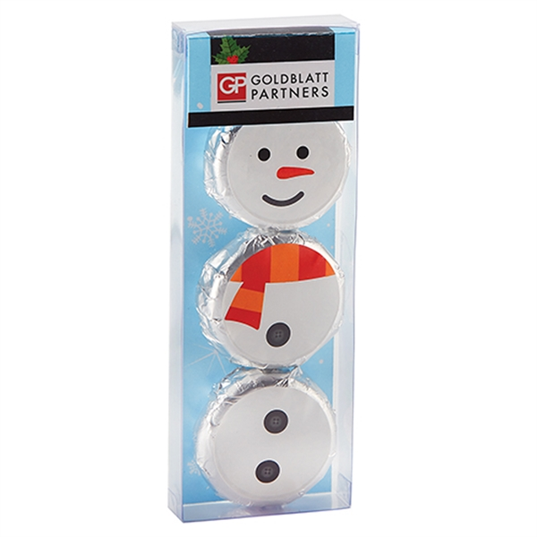 Holiday Chocolate Covered Oreo® Gift Set - Snowman