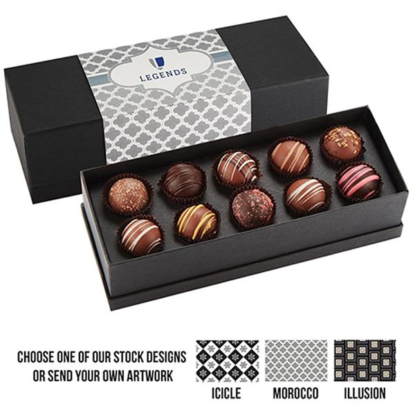 10 Piece Belgian Chocolate Truffle Box