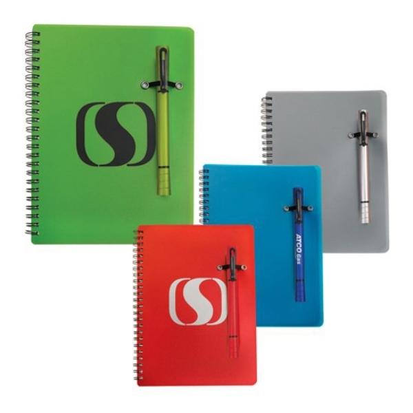 Double Notebook/Pen Combo