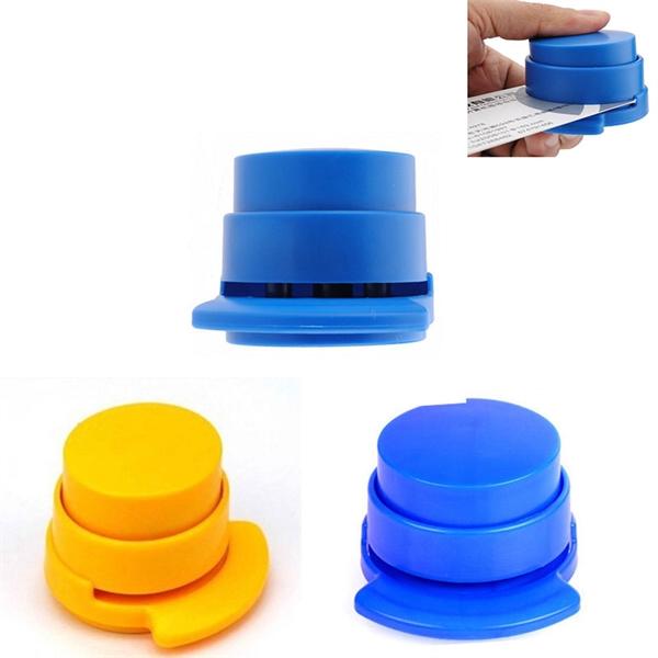 Plastic Staple Free Stapler