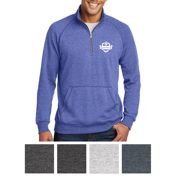 District Made Men's Lightweight Fleece 1/4-Zip
