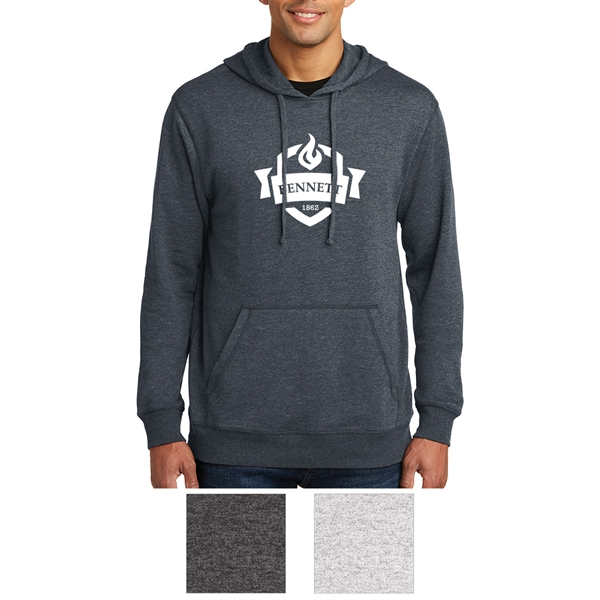 District Made Men's Lightweight Fleece Hoodie